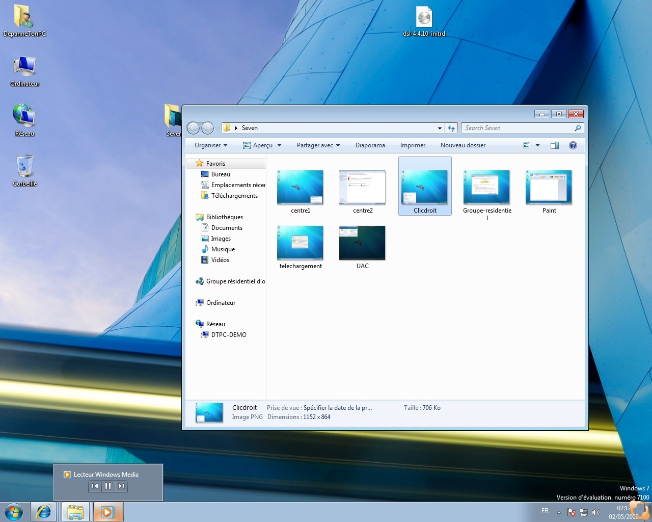Windows 7 rc1 fran ais premi res captures d 39 cran - Open office windows 7 gratuit francais ...
