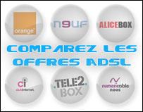 Comparer les offres ADSL